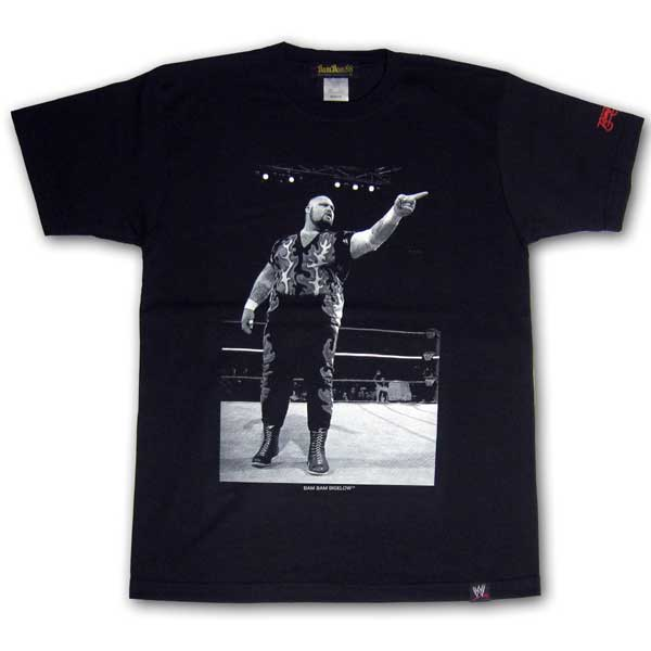 "WWE""LEGEND""SUPERSTARS T-SHIRTS バンバンビガロ BAM BAM BIGELOW"